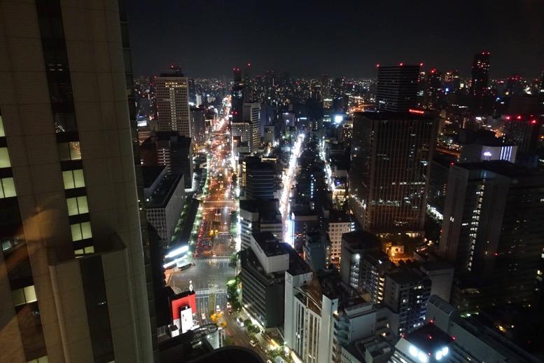 リッツ大阪:クラブデラックスルームの眺望2