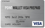 POINT WALLET VISA PREPAIDの券面