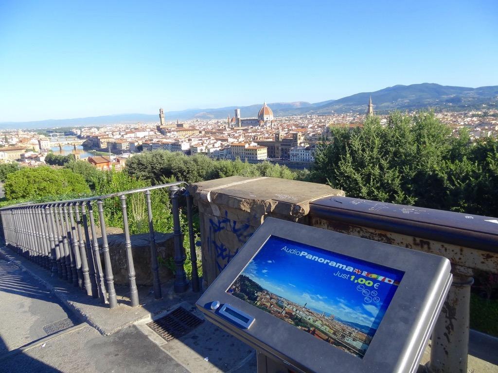 ミケランジェロ広場からの「眺望」1