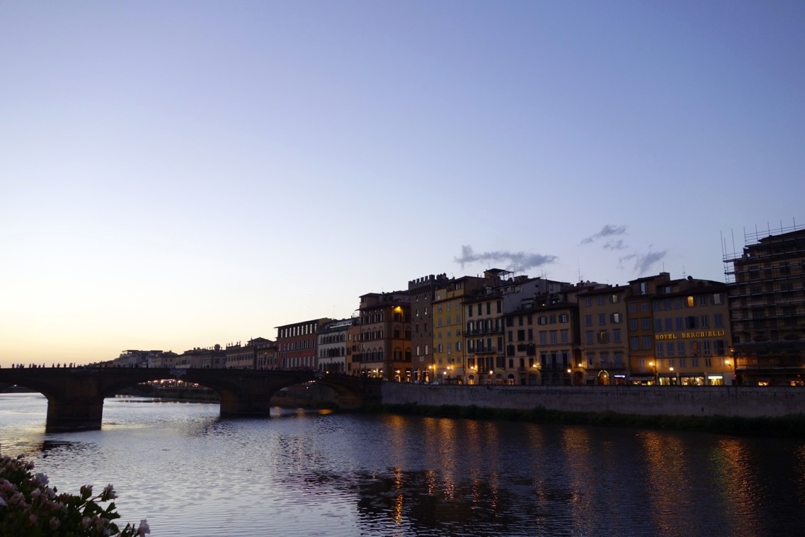 フィレンツェの夕景1