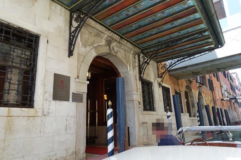 ベネチア「ダニエリ 」の桟橋1