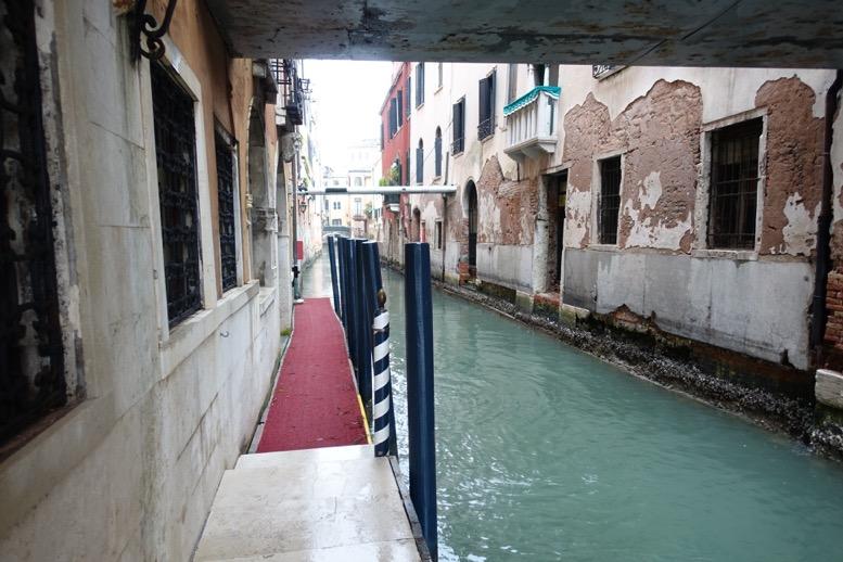 ベネチア「ダニエリ 」の桟橋2