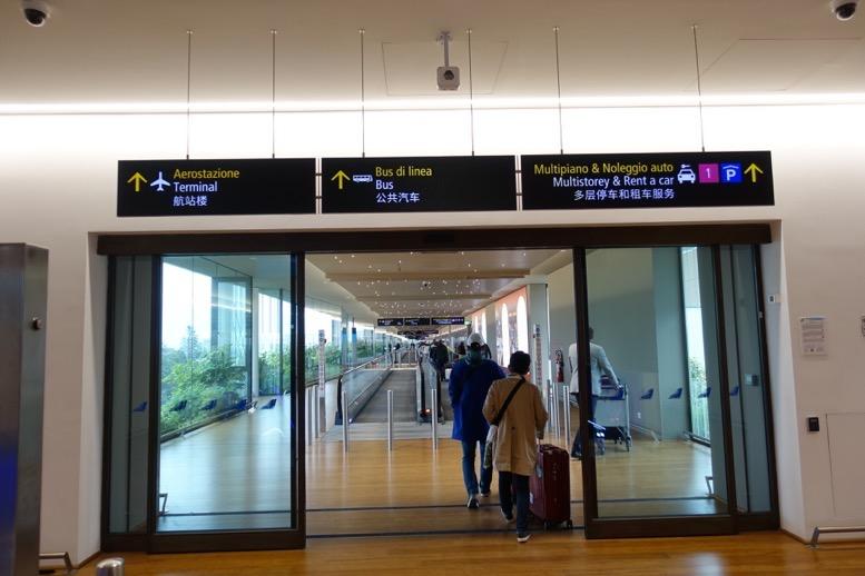 テッセラ空港(マルコポーロ空港)の様子3