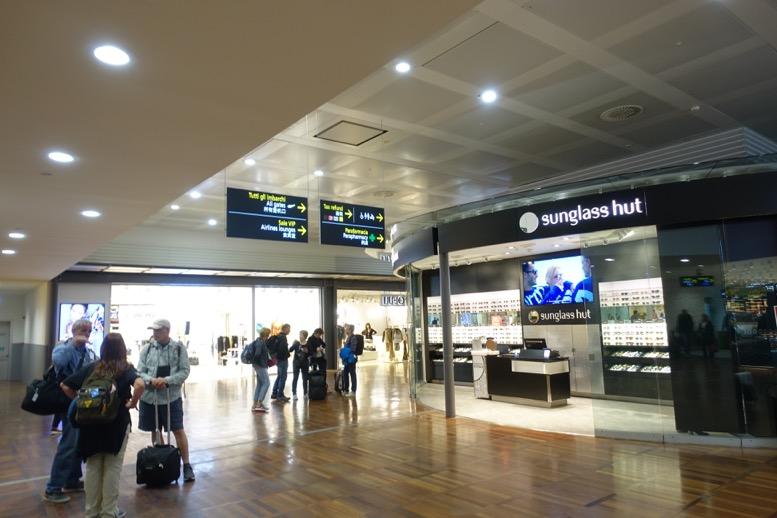 ベネチアのマルコポーロ空港の制限エリアの様子1