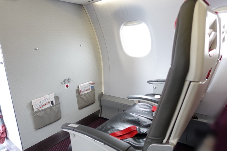 オーストリア航空:機内の雰囲気と座席(シート)2