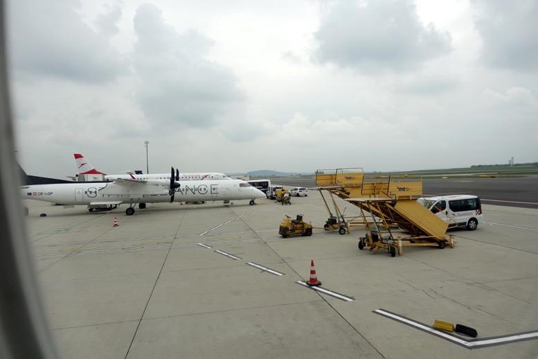オーストリア航空:機内食とドリンク5