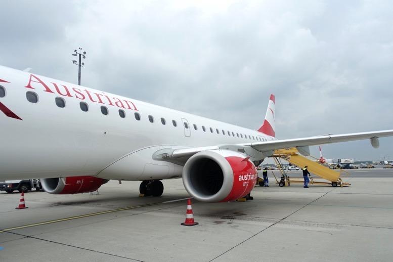 オーストリア航空ビジネスクラス搭乗
