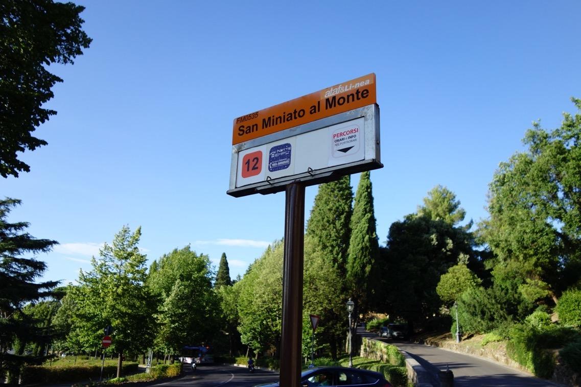 フィレンツェのバス停のイメージ