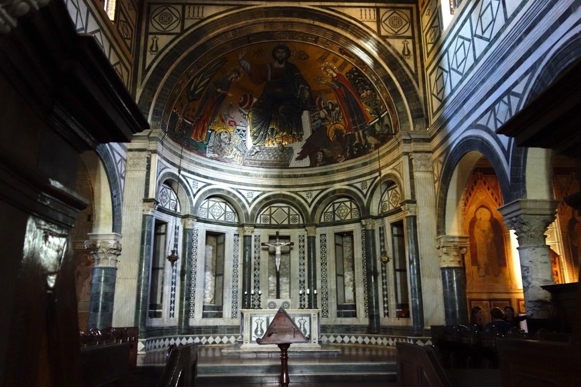 サン・ミニアート・アル・モンテ教会の「内観」2