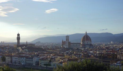 フィレンツェの絶景スポット「ミケランジェロ広場」の行き方!バスと徒歩の体験レポート!