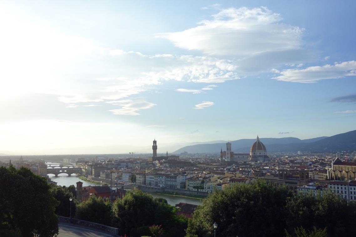 ミケランジェロ広場からの「眺望」2