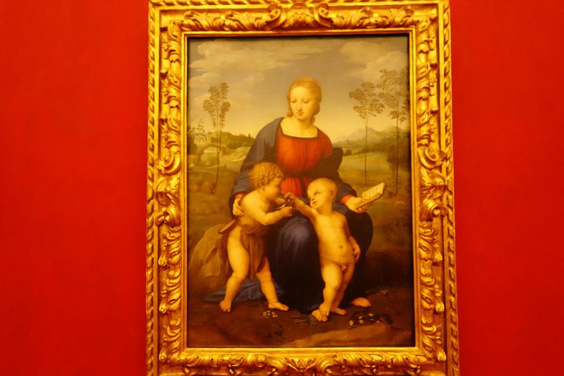 ラファエロ「ヒワの聖母」