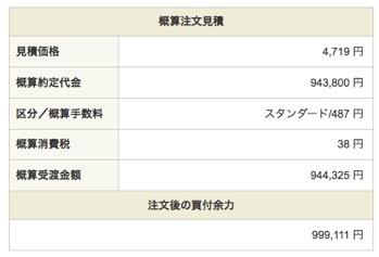 ANAホールディングス:注文入力(現物買)4