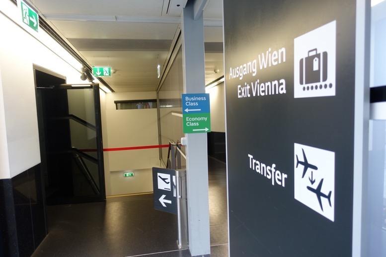 ウィーン空港での優先搭乗3