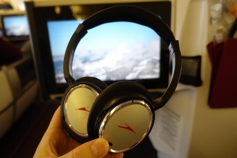 オーストリア航空「ビジネスクラス」の座席(シート)7