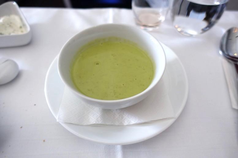 オーストリア航空「ビジネスクラス」の機内食(フード)5