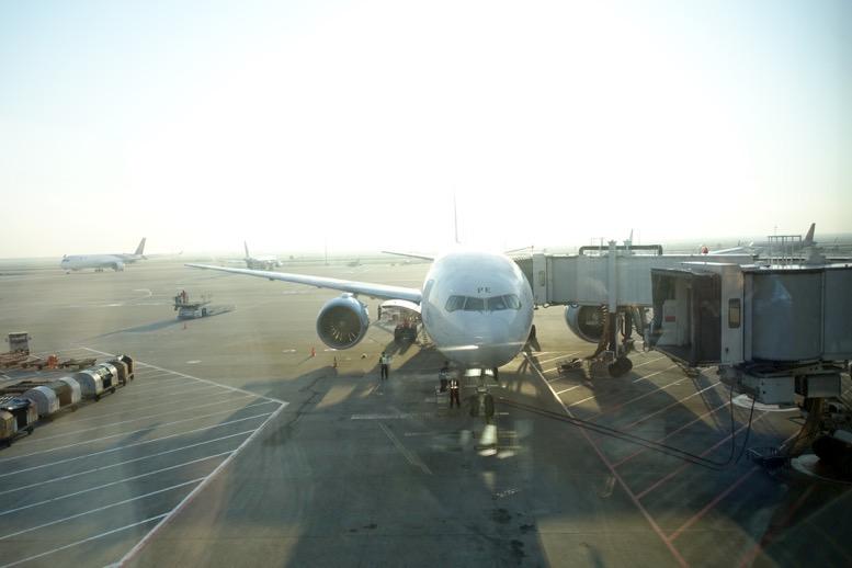 オーストリア航空の機体(B777-200ER)
