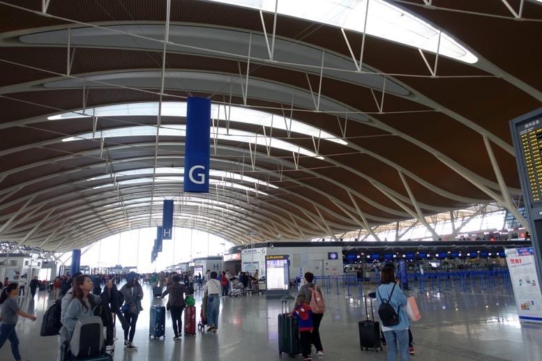 上海浦東国際空港での乗り継ぎ8