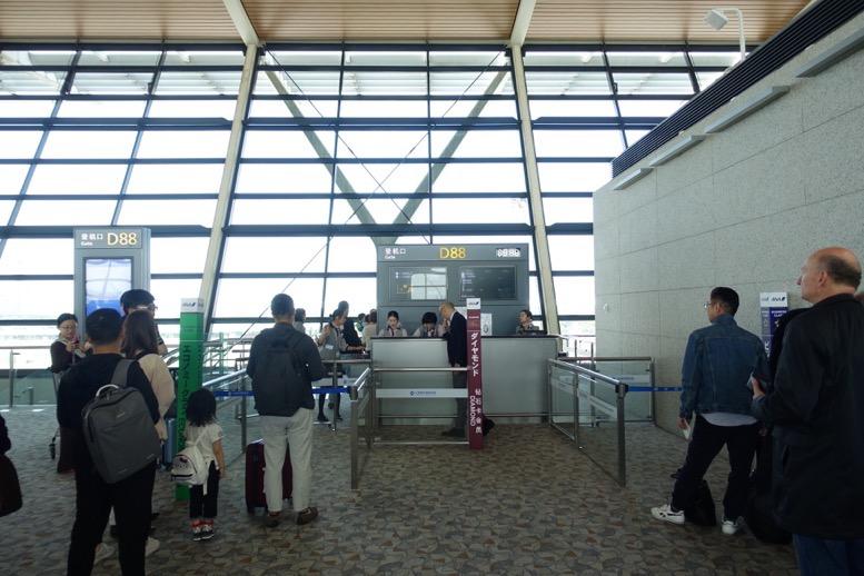 ANAビジネスクラス空港サービス:優先搭乗1
