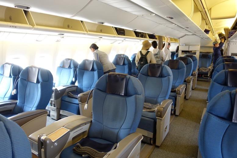ANAビジネスクラス搭乗記:機内の雰囲気2