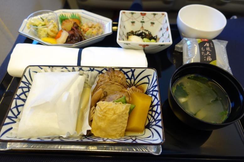 ANAビジネスクラス搭乗記:機内食3