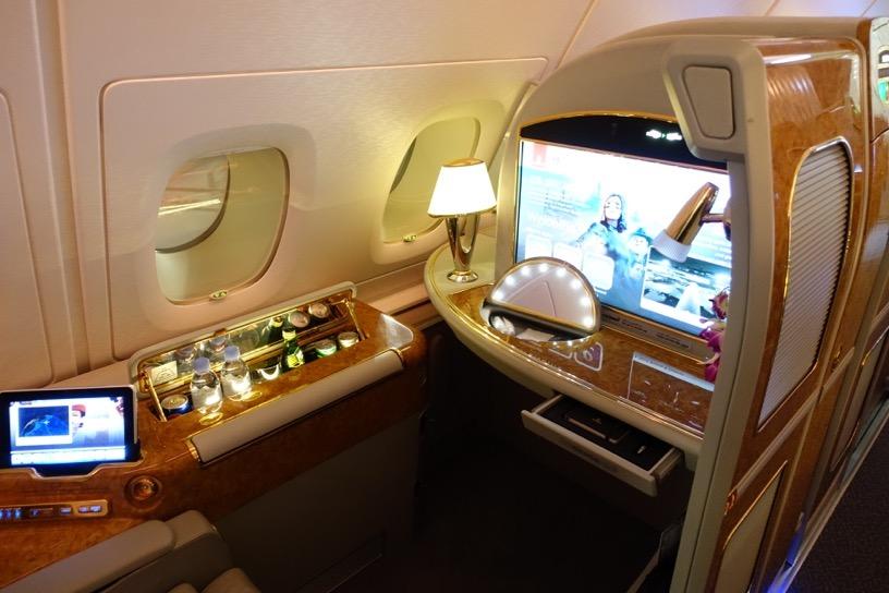 エミレーツ航空 ファーストクラス