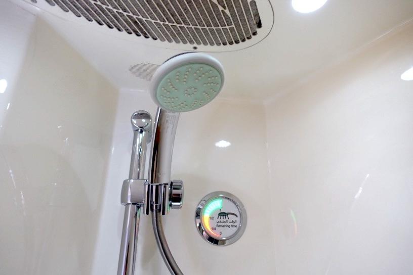 エミレーツ航空ファーストクラス:シャワー&トイレ8