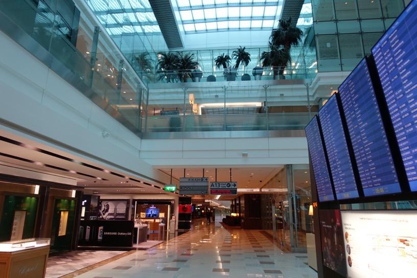 ファーストクラスラウンジ(ドバイ空港):ラウンジ マップ1