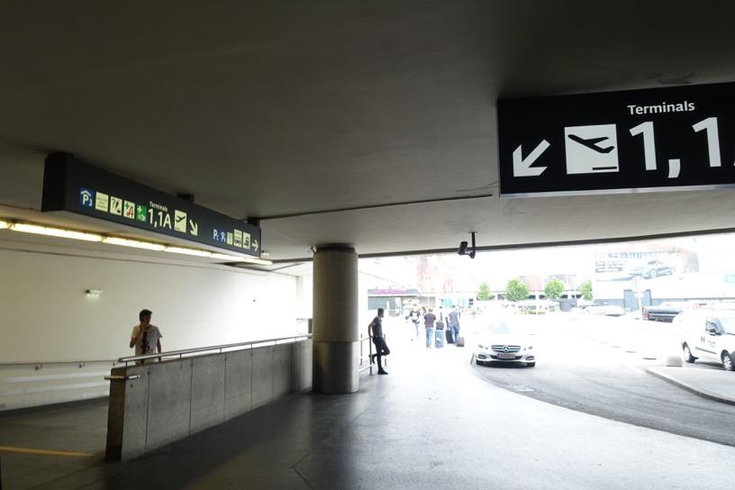 ウィーン空港:地下駐車場1