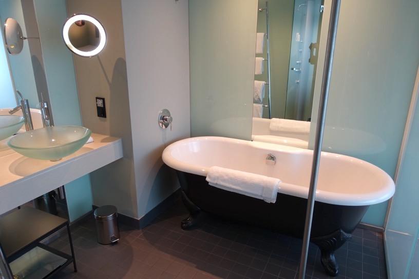 ルメディアン・ウィーンの客室:バスルーム1