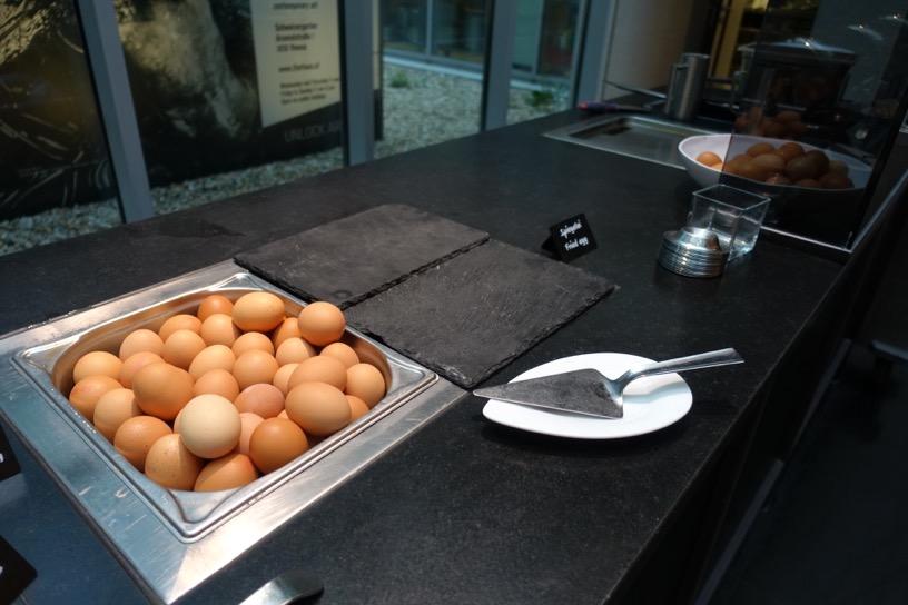 朝食ビュッフェ:エッグステーション2