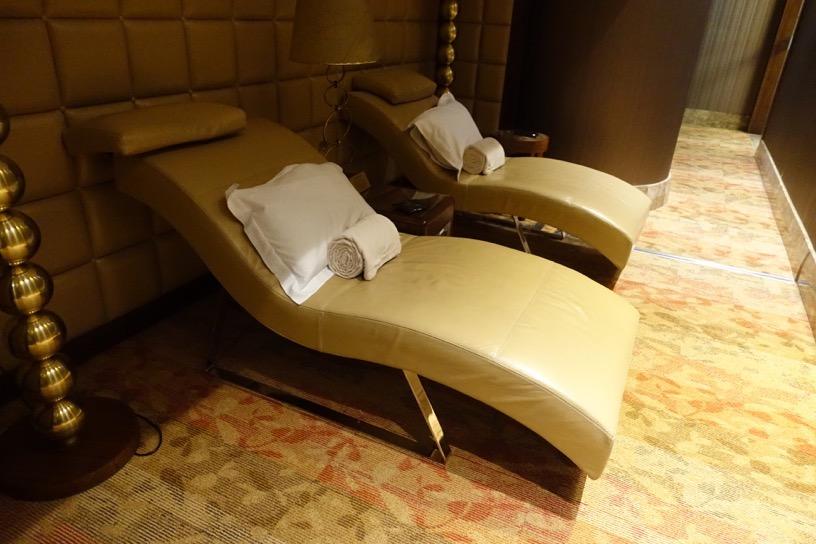 ファーストクラスラウンジ(ドバイ空港):仮眠室2