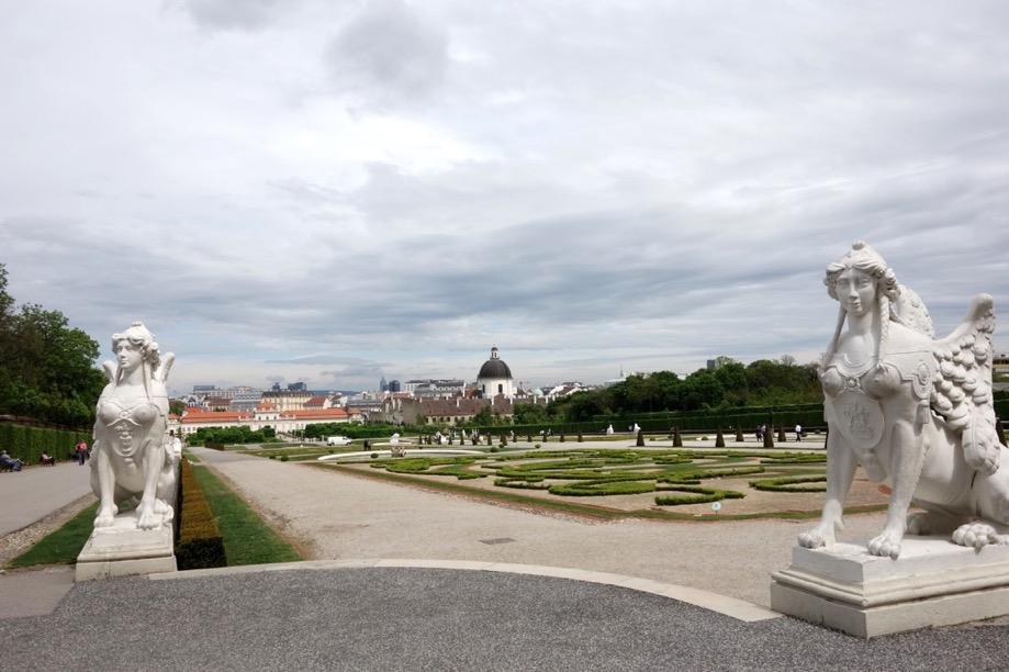 ベルヴェデーレ宮殿:庭園1