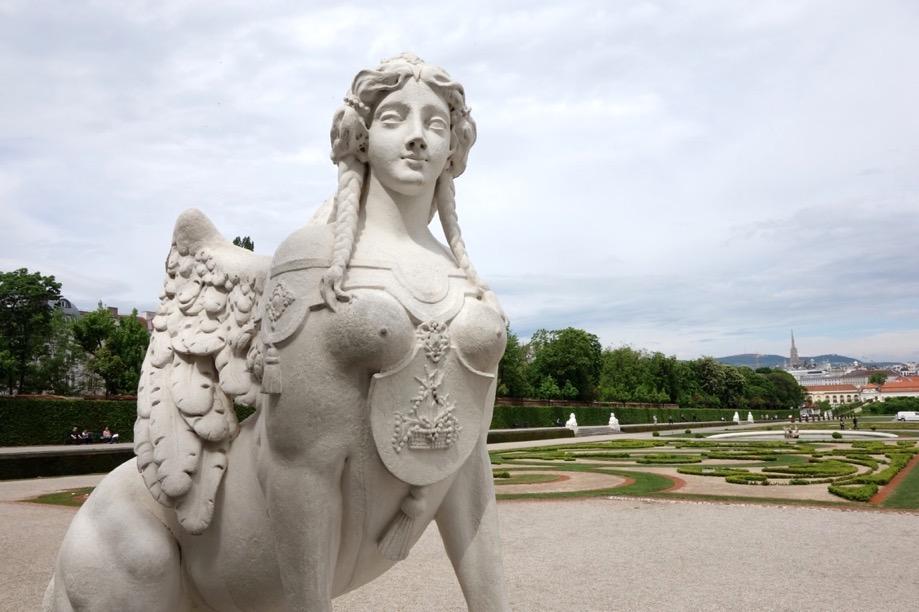 ベルヴェデーレ宮殿:庭園2