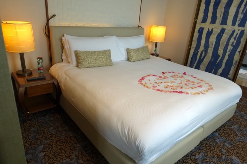 客室(ジュニアスイート):ベッドルーム1