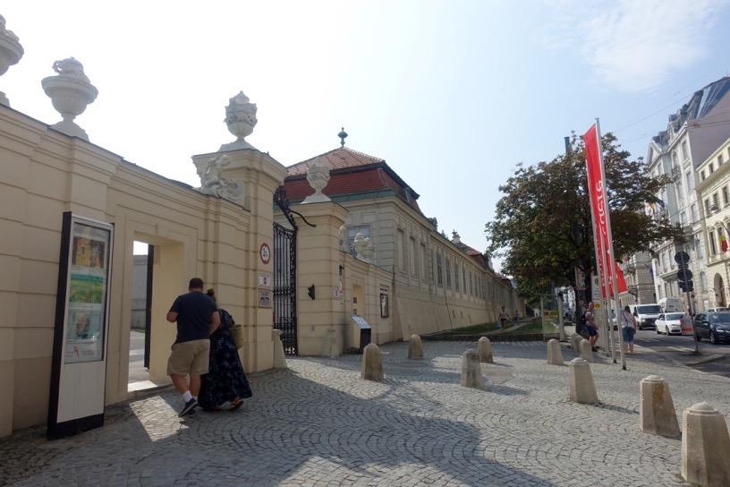 ベルヴェデーレ宮殿:入り口(上宮)1