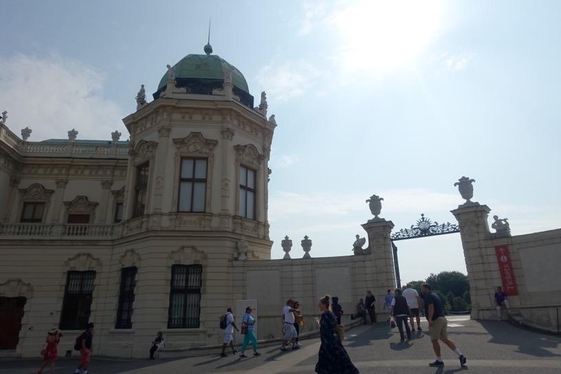ベルヴェデーレ宮殿:入り口(上宮)2
