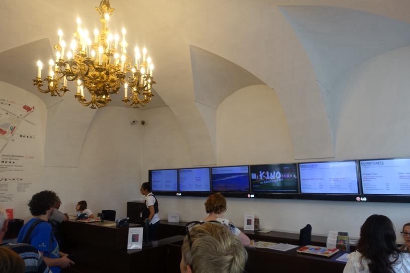 ベルヴェデーレ宮殿:チケット売り場2