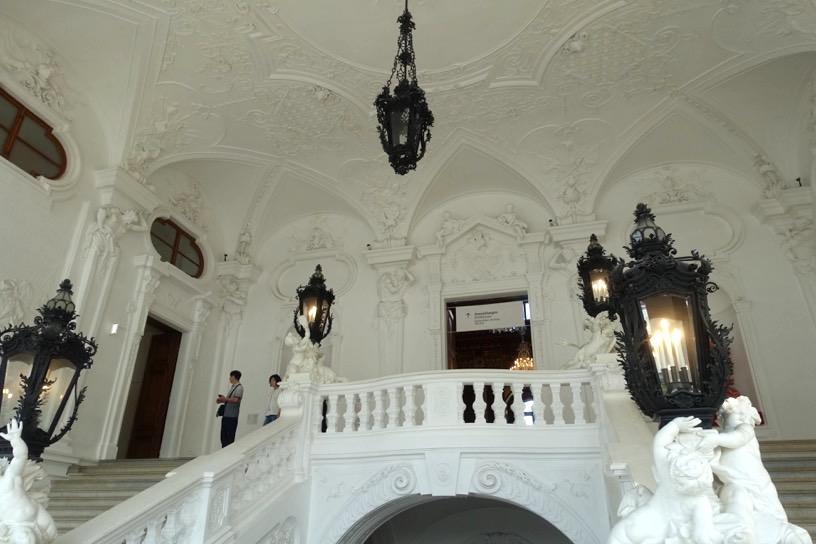 ベルヴェデーレ宮殿:建物内美1