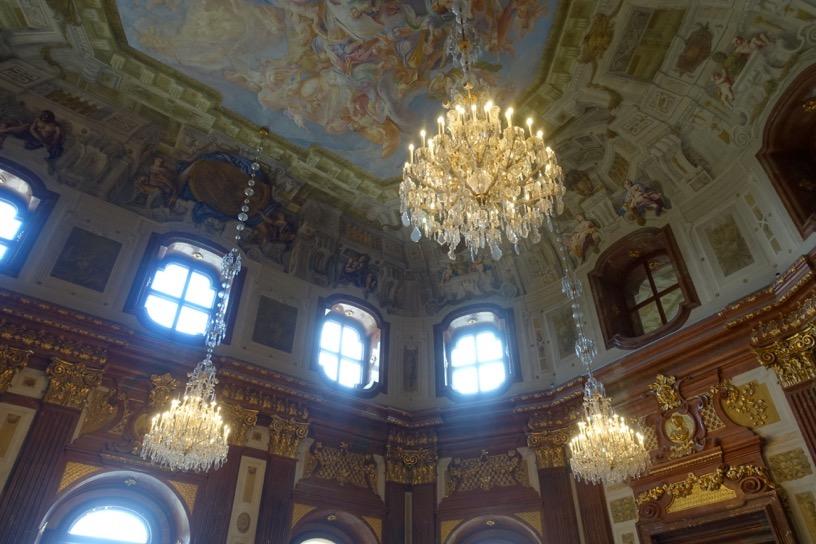 ベルヴェデーレ宮殿:建物内美2
