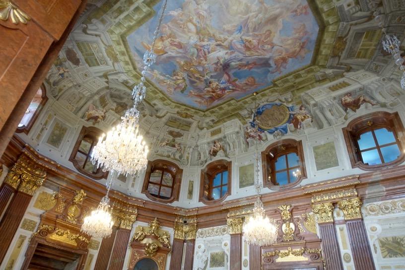 ベルヴェデーレ宮殿:建物内美3
