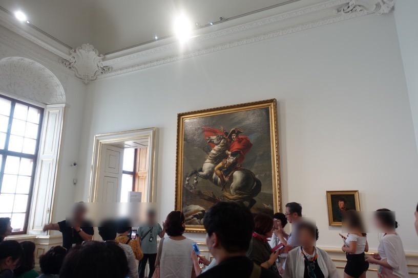 ベルヴェデーレ宮殿:ダヴィット作品1