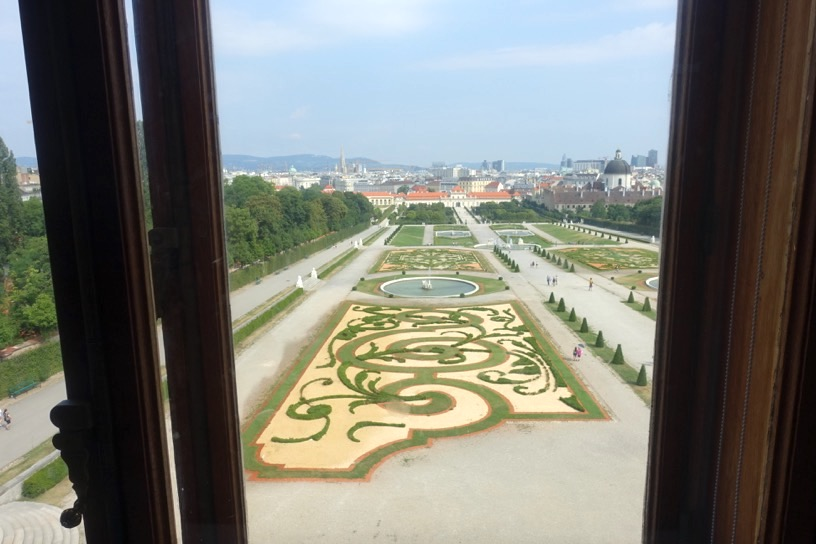 ベルヴェデーレ宮殿:眺望1