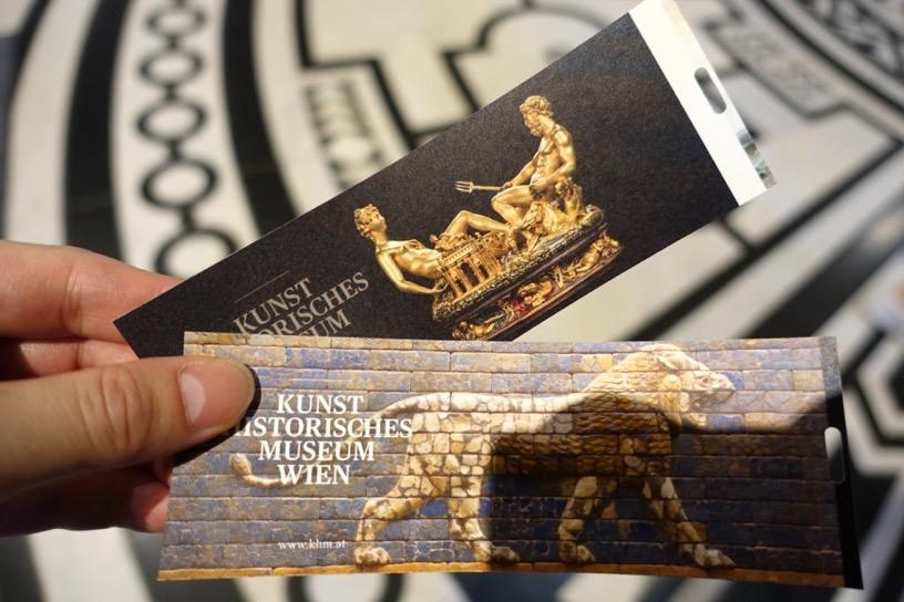 美術史美術館:チケット売り場とロビー2