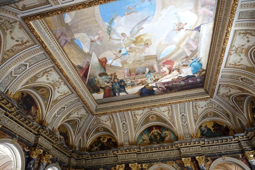 美術史美術館:階段ホール3