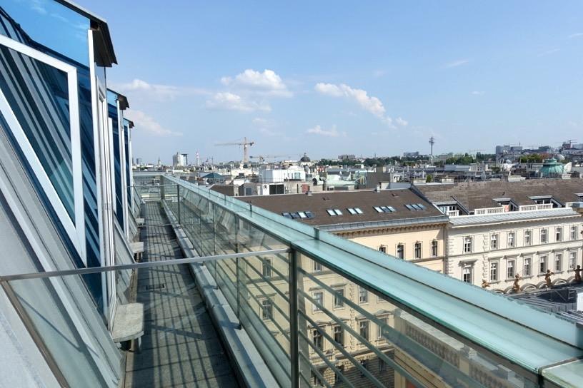 ホテル インペリアル ウィーン:テラスからの眺望4