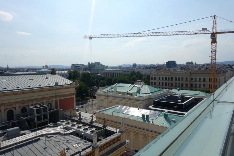 ホテル インペリアル ウィーン:テラスからの眺望5