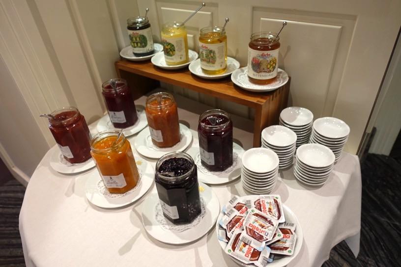 朝食ビュッフェ:フードの品揃え6