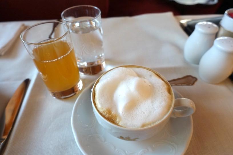 朝食ビュッフェ:ドリンクの品揃え3