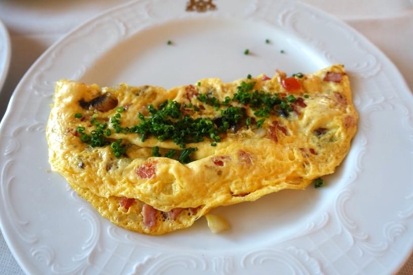 朝食ビュッフェ:実食1
